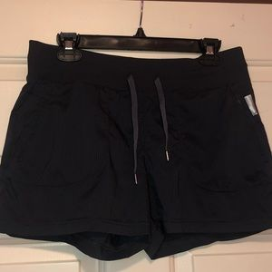 Dark Gray Running Shorts
